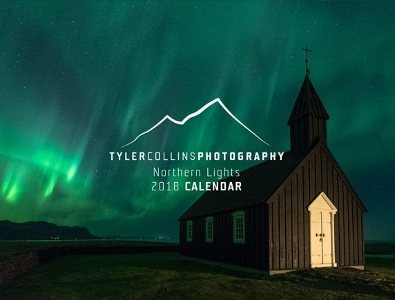 Northern-Lights-Wall-Calender-2018