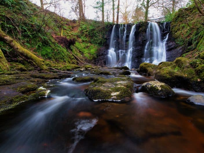 Glenariff Waterfall, Co Antrim, Northern Ireland