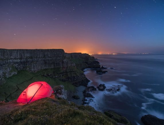 Hamiltons Tent, Causeway Coast, Co Antrim, Northern Ireland