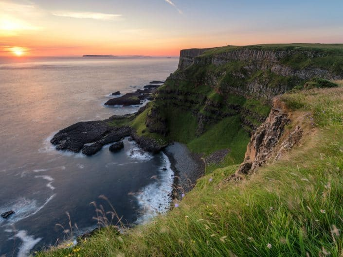 Sunrise, Causeway Coast, Northern Ireland