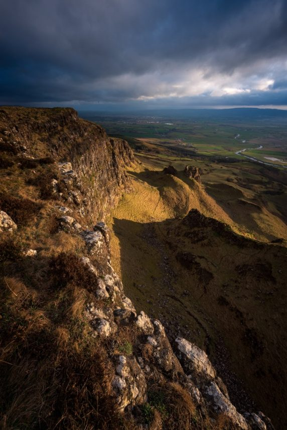 The Castle, Binevenagh Mountain, Co Derry 1