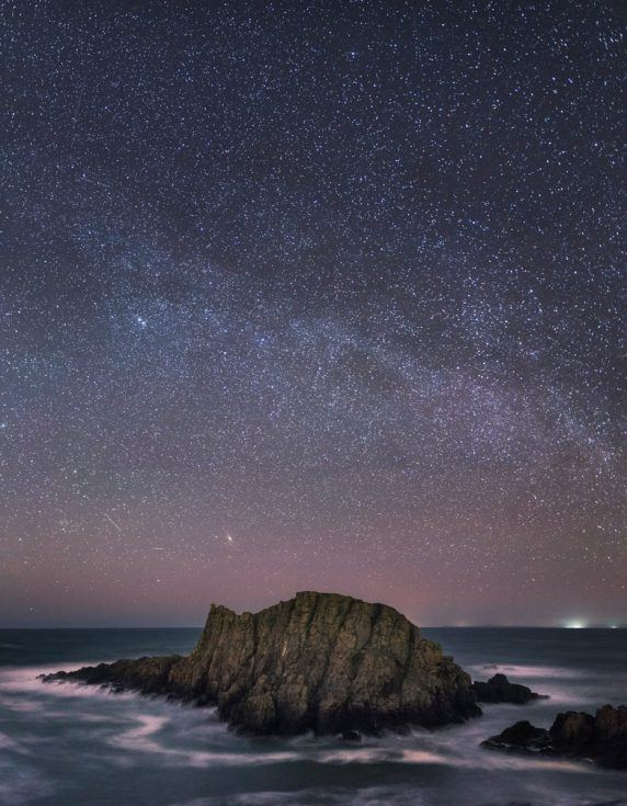 Ballintoy Sea Stack with Milky Way 1