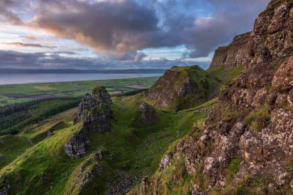 Sunset Binevenagh, Northern Ireland 1