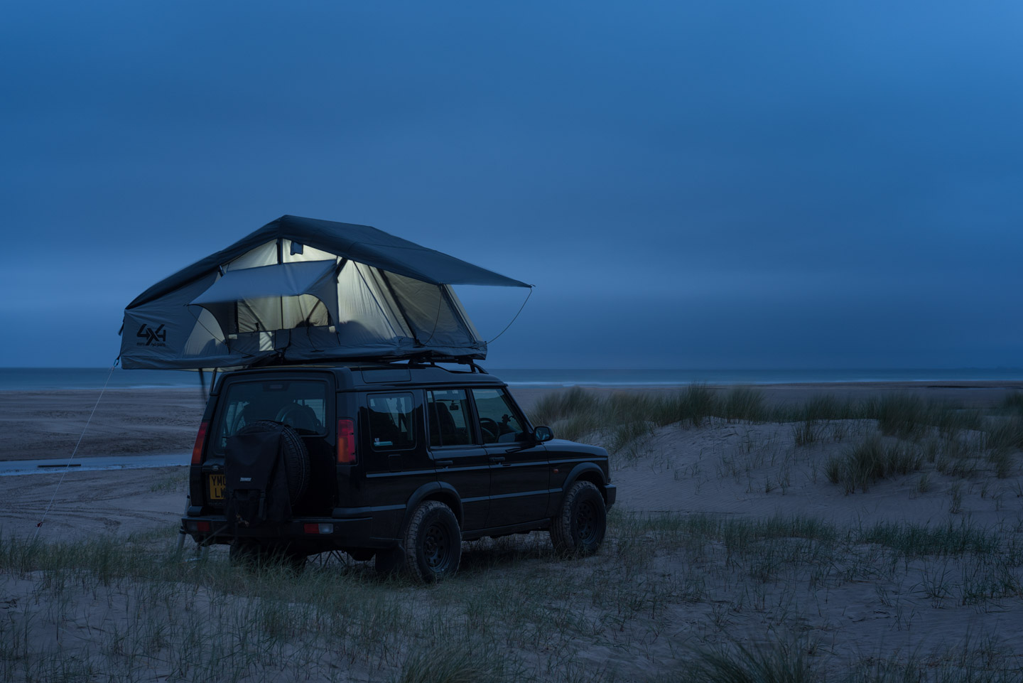 Land Rover Discovery 2 Roof Top Tent