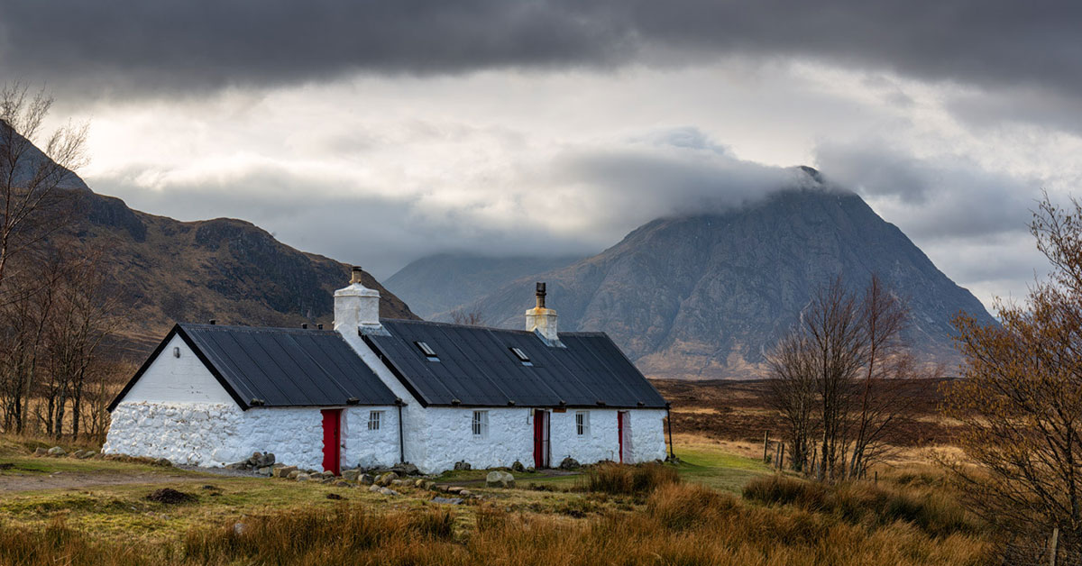 Black Rock Cottage, Glencoe Photo Workshop